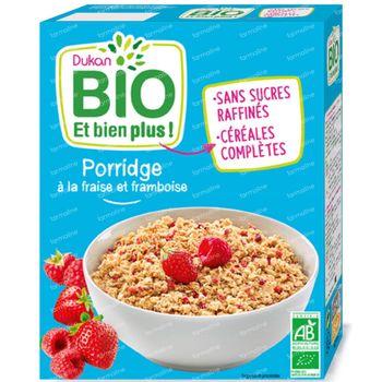 Dukan Porridge Fraise-Framboise Bio 300 g
