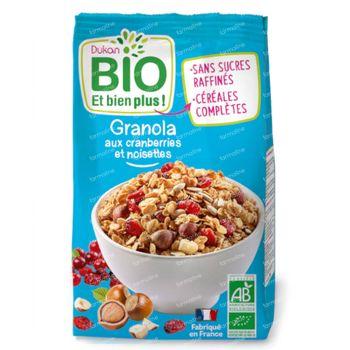 Dukan Granola Noisette-Cranberry 350 g