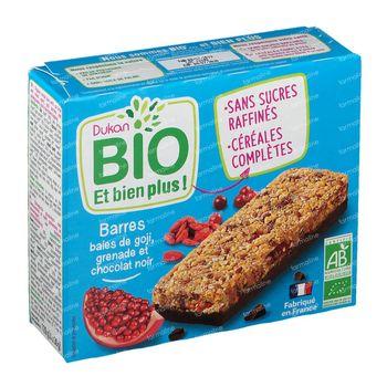 Dukan Barres Baies de Goji-Grenade-Chocolat Noir Bio 120 g