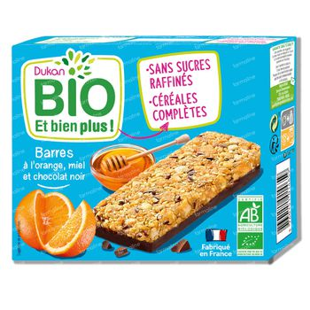 Dukan Barres Miel-Chocolat Bio 120 g