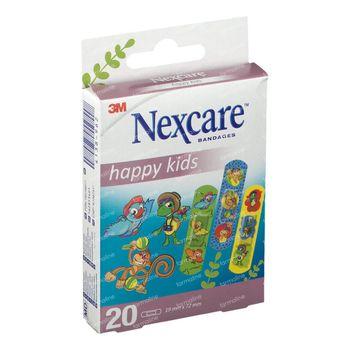 Nexcare Happy Kids Dieren 20 pleisters