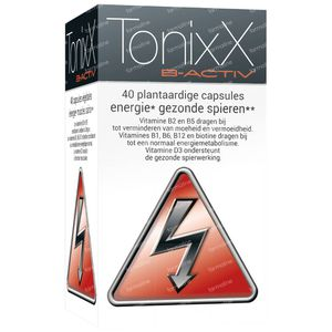TonixX B-Active 40 capsules