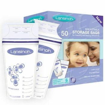 Lansinoh Bewaarzakjes Moedermelk 50 stuks