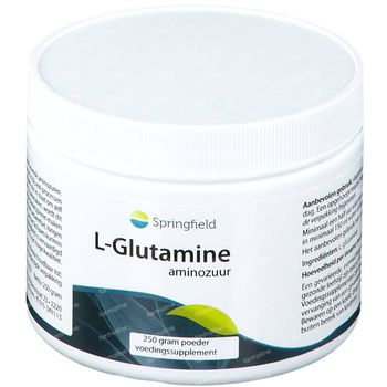 Springfield L-Glutamine Poeder 250 g