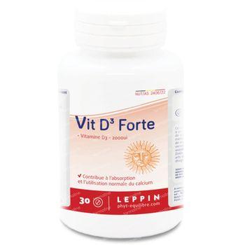 Lepivits Vitamine D3 Forte 30 comprimés