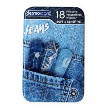 Dermo Care Pleisters Soft & Sensitive Jeans 18 stuks