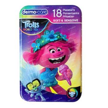 Dermo Care Pleisters Soft & Sensitive Trolls 18 stuks