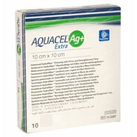 Aquacel AG+ Extra Pansement 10x10cm 10 pièces