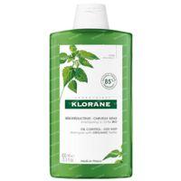 Klorane Oil Control Shampoo Brandnetel Bio 400 ml