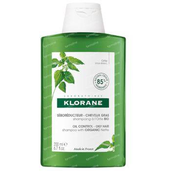 Klorane Oil Control Shampoo Brandnetel Bio 200 ml