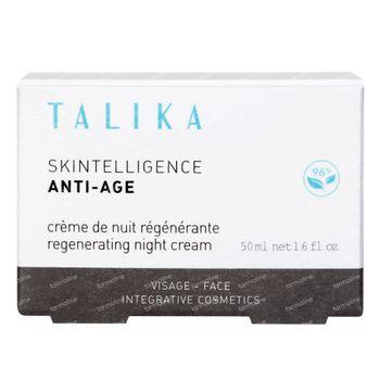 Talika Skintelligence Anti-Âge Crème de Nuit Régénérante 50 ml