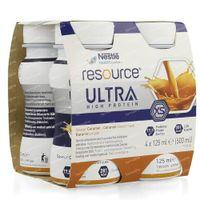 Nestlé Resource Ultra Karamel 4x125 ml
