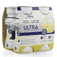 Nestlé Resource Ultra Vanille 4x125 ml