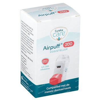 Eureka Care Airpuff 200 - Dosisteller 1 stuk