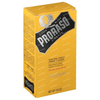 Proraso Scheercrème Wood & Spice 275 ml