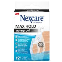 Nexcare Max Hold 3 Maten Assortiment 12 pièces