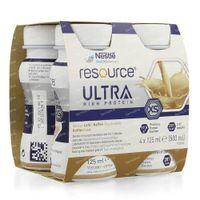 Nestlé Resource Ultra Kaffee 4x125 ml