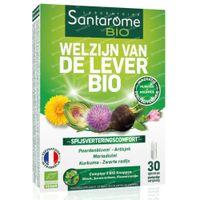 Santarome Welzijn van de Lever Bio 30  capsules