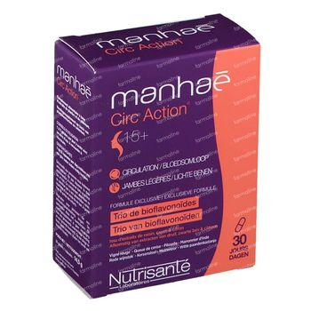 Manhaé Circ Action 30 capsules