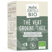 Nutri'Sentiels Bio Thé Vert 40  capsules