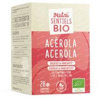 Nutri'Sentiels Bio Acerola 28  tabletten