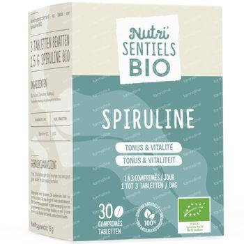 Nutri'Sentiels Bio Spirulina 30 tabletten