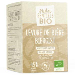 Nutri'Sentiels Bio Levure de Bière 45 capsules