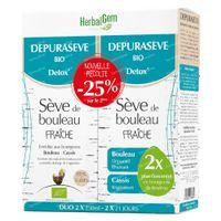 HerbalGem Depuraseve Bio DUO 2x250 ml