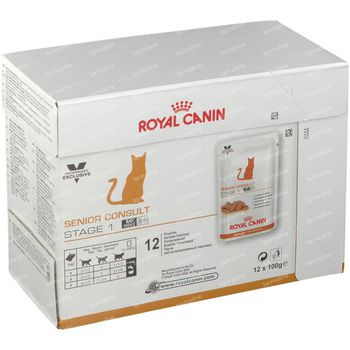Royal Canin Kat Senior Consult Stage 1 12x100 g