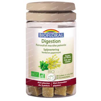 Biofloral Spijsvertering Bio 60 kauwtabletten