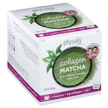 Physalis Collagen Matcha 12x10 g
