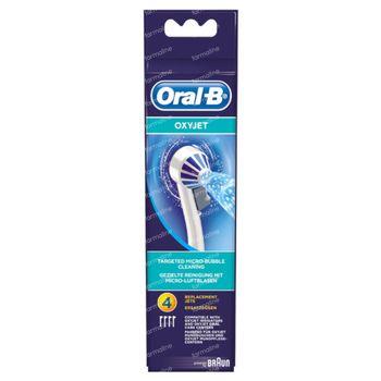 Oral-B Refill ED17-4 Aquacare Oxyjet 4 pièces
