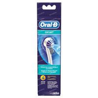 Oral-B Refill ED17-4 Aquacare Oxyjet 4 stuks