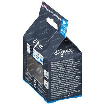 Difrax Fopspeen Clay Natural 0-6 Maanden 1 stuk
