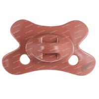 Difrax Schnuller Brick Natural 0-6 Monate 1 st