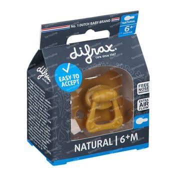 Difrax Sucette Honey Natural 6 Mois+ 1 pièce