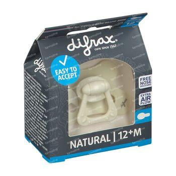 Difrax Fopspeen Popcorn Natural 12 Maanden+ 1 stuk