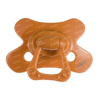 Difrax Sucette Pumpkin Natural 12 Mois+ 1 pièce