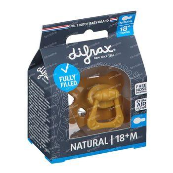 Difrax Sucette Honey Natural 18 Mois+ 1 pièce