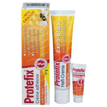 Protefix Crème Adhesive X-Fort avec Propolis 40 + 4 ml