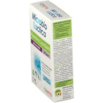 Ortis MicrobioLactica 2x15 tabletten