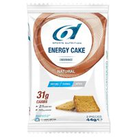 6D Sports Nutrition Energy Cake Natural 6x44 g