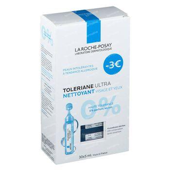 La Roche-Posay Toleriane Ultra Démaquillant Prix Réduit 30x5 ml ampoules