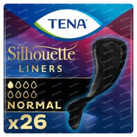TENA Silhouette Normal Inlegverband Zwart 26 stuks