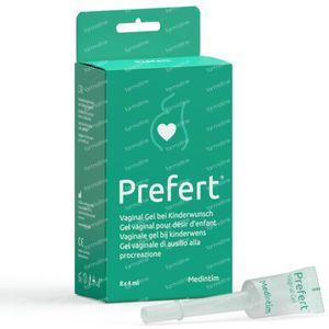 Prefert Vaginaal Glijmiddel bij Kinderwens 8x4 ml
