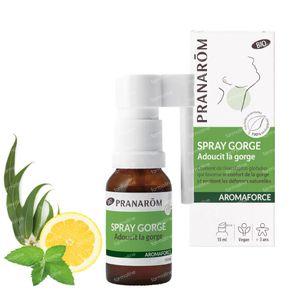 Pranarôm Aromaforce Gorge Spray Apaisant 15 ml