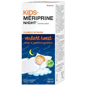 KIDS-Mériprine Night Hoestsiroop - Nachtelijke Droge en Slijmhoest 180 ml