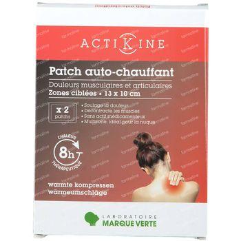 ActiKine Zelfverwarmende Patches Multizones 13x10cm 2 stuks