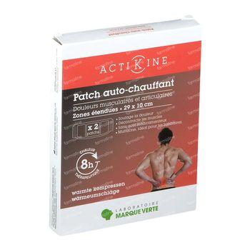 ActiKine Zelfverwarmende Patches Rug 29x10cm 2 stuks
