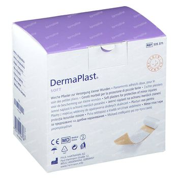 Hartmann DermaPlast Soft 8cm x 5m 1 stuk